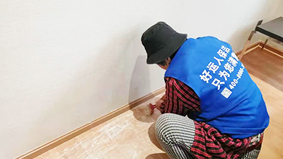 好运人保洁解说新房开荒保洁流程